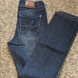 Used blue jeans by Inc Denim size 6